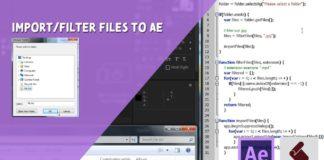ExtendScript-Tutorial-ImportFilter-Files-to-AE