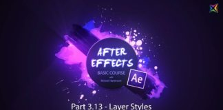 After-Effects-Basic-Course-3.13-Layer-Styles