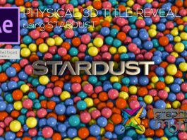 Stardust-Physics-3D-Title-Reveal-After-Effects-Tutorial