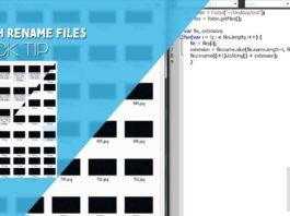 ExtendScript-QuickTip-Batch-Rename-Files