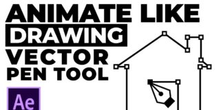 Animate-like-Drawing-Vector-Pen-Tool-in-After-Effects-Tutorial