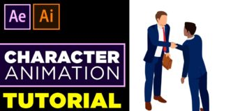 Character-Animation-Tutorial-in-After-Effects-No-Third-Party-Plugin