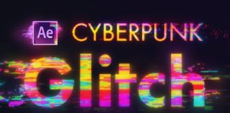 Cyberpunk-Glitch-Transitions-in-After-Effects-Animation-Tutorial