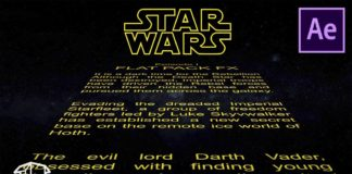 How-to-make-Horizontal-Star-Wars-Title-Crawl-Template-After-Effects-CS6