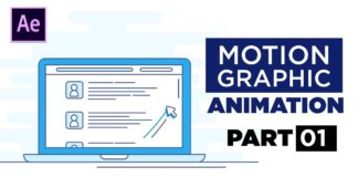 Motion-Graphics-Laptop-Animation-After-Effects-Tutorial-Part-1