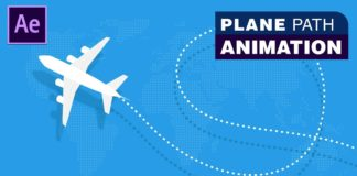 Plane-Path-Animation-Adobe-After-Effects-Tutorial-Download-Source-File