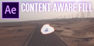 New-Content-Aware-Fill-Tool-in-Adobe-After-Effects-CC-How-to-remove-objects-from-video