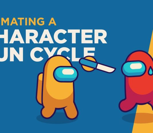 Animating-a-Game-Character-Run-Cycle-Among-Us-After-Effects-Tutorial