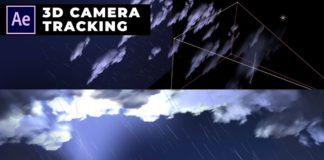 Dark-Cloud-and-Raining-Animation-in-After-Effects-3D-Tutorial