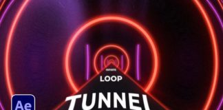 Infinite-Tunnel-Loop-Motion-Graphics-in-After-Effects-Tutorial