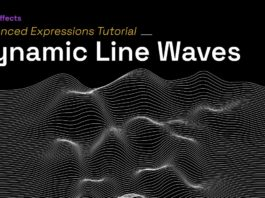 After-Effects-Expressions-Dynamic-Line-Waves-using-createPath-and-sampleImage