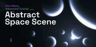 After-Effects-Tutorial-Abstract-Space-Scene