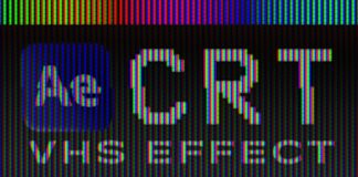 Create-a-VHS-Effect-in-After-Effects-CRT-Screen-Tutorial