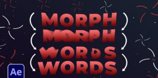 Morph-Words-Into-Words-amp-Shapes-in-After-Effects-Tutorial