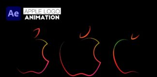 Apple-Logo-Animation-Tutorial-in-After-Effects-Using-New-Taper-Stroke-Feature-in-2020-No-plugins