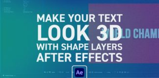After-Effects-Quick-Text-Extrusions-with-Shape-Layers