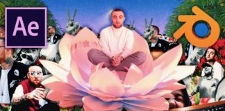 Create-a-Mac-Miller-quotGood-Newsquot-Style-Collage-Music-Visualizer-Adobe-After-Effects-amp-Blender