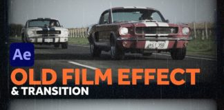 Custom-Old-Film-Effect-amp-Transition-After-Effects-Tutorial