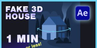 Fake-3D-House-in-30s-After-Effects