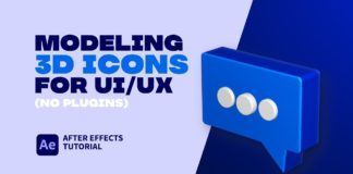 Modeling-3D-Icons-For-UIUX.-After-Effects-Tutorials