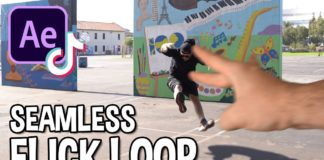 TikTok-Editing-Trends-Seamless-Loop-Flick-Effect