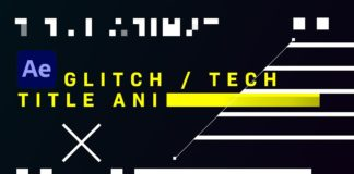 Glitch-Tech-Title-Animation-After-Effects-Tutorial