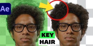 Remove-GREEN-Screen-and-SPILL-in-HAIR-Adobe-After-Effects-2021