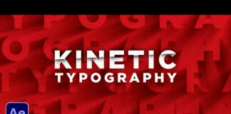 3-Title-Kinetic-Motion-Graphics-Techniques-in-After-Effects