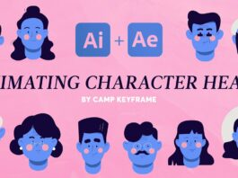 Animating-Character-Heads-After-Effects-Tutorial