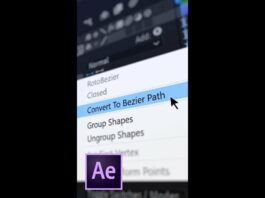 Convert-to-Bezier-Path-in-After-Effects-Shorts