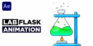 Easy-Chemical-Lab-Flask-Animation-After-Effects-Tutorial