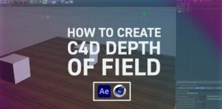 How-to-Create-C4D-Depth-of-Field-After-Effects-Tutorial