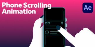 Phone-Scrolling-Animation-in-After-Effects-Tutorial