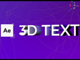 Getting-Started-with-3D-Text-After-Effects