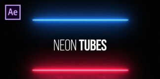 Neon-Tubes-Title-Animation-in-After-Effects-After-Effects-Tutorial