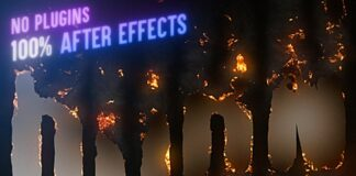 Advanced-Burn-Effect-After-Effects-Tutorial-NO-PLUGINS